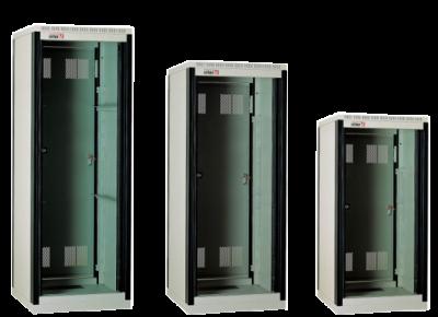 Шкаф алюминиевый аппаратный на 15 установочных мест